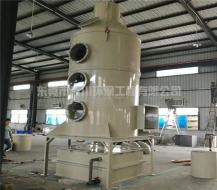 湿式除尘器喷淋塔处理金属粉尘