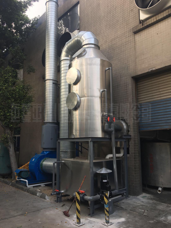 电磁中央熔炉废气处理