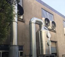 电磁中央熔炉废气处理工程案例