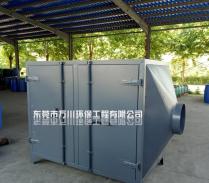 注塑厂有机废气处理使用活性炭除臭设备