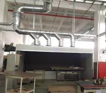东莞家具厂喷胶废气处理工程案例