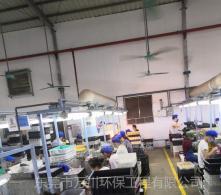 玩具厂手动喷漆废气处理工程案例